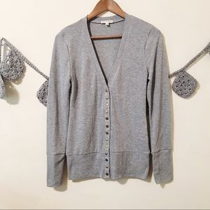 🐼Zenana Outfitters Grey Cardigan-M 🐼